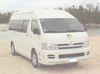 transportation from cancun airport to the riviera maya 14 person van