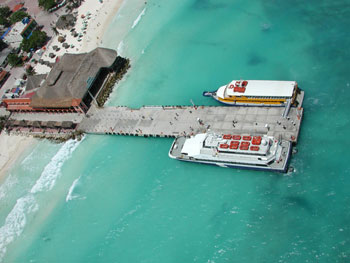ferry in playa del carmen that takes you to cozumel